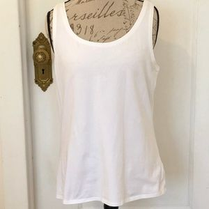 NIC+ZOE Perfect Tank White XL EUC